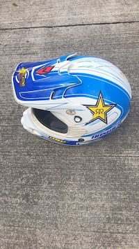 blue and white full-face helmet Kingsport, 37660
