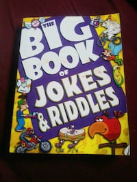 big book of jokes and riddles  Calgary, T2K 3Z1