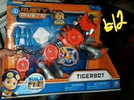 New tiger bot toy