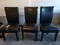 3 leather chairs. Calgary, T3N 0P8