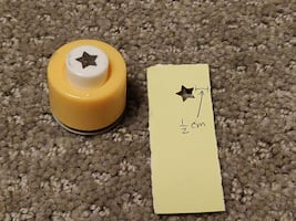 Craft Paper Punch / Punches / Punchers - Small Star