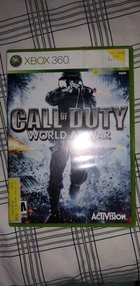 Call of duty world at war xbox 360 Brookhaven, 30319