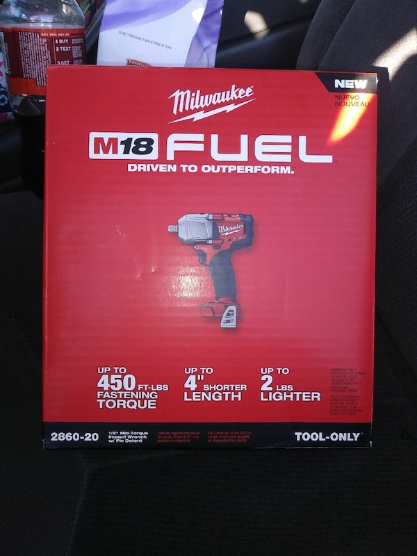 Milwaukee M18 Fuel driven to outperform box