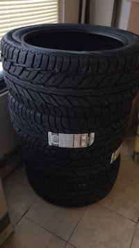 Brand new winter tires