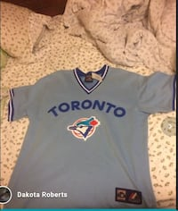 Majestic Toronto Blue Jays Cooperstown Collection Light Blue Jersey Toronto