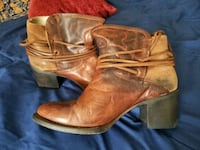 Brown Leather Boots from Buckle Midwest City, 73110