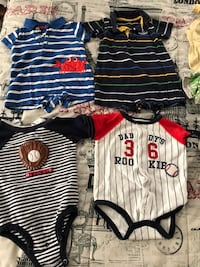 3,6, and 3-6 month type onsie outfits Franklin, 45005