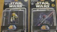 LOT 2 STAR WARS DONALD DUCK AS DARTH MAUL; DONALD DUCK AS HAN SOLO NEW