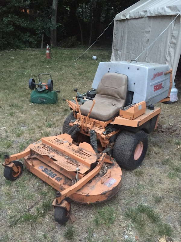 Used Yellow White Zero Turn Mower For Sale In Toms River