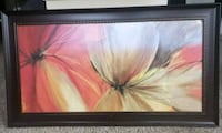 brown wooden framed painting of flowers Franconia, 22310