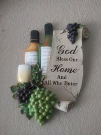Grapes Bless This House Wall Decor El Paso, 79938