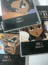Boondocks season 1 dvd