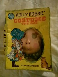 Vintage Holly Hobbie mask and goun costume  Beaumont