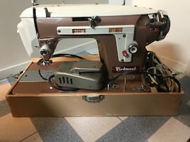 Portable piedmont sewing machine