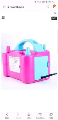 pink and blue plastic container Mississauga, L5R 0A8