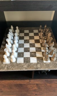 Complete CHESS glass board