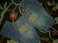 Miss Me Embroidered boot-cut Jeans 26/32 New Condi 861 mi