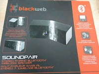 BRAND NEW BLACK WEB BLUETOOTH SPEAKER  Mississauga, L5V