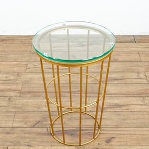 Glass Top Side Table (1016034)