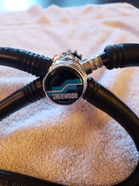 1st and 2nd Stage SCUBA Regulator with Gauges ALEXANDRIA