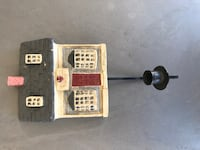 Wall hanging Cottage candle holder or light sconce-home decor- Midland, 79705