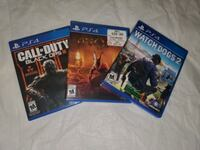 COD BLACK OPS III, WATCH DOGS 2, AND AGONY