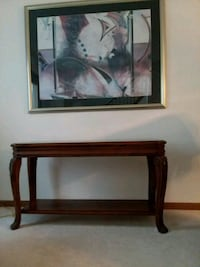 brown wooden side end  table Pickerington, 43147