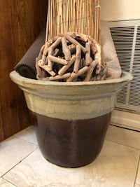 Ceramic Pot Large and Heavy
