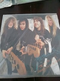 METALLICA GARAGE DAYS RE-VISITED VINYL RECORD 1987