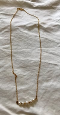 Real Gold And Real Pearl kid necklace age 1 to 10 Lunenburg, 01462