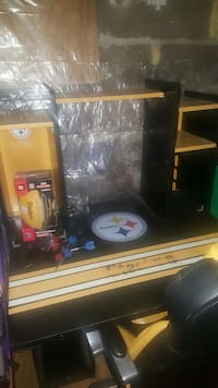 black and yellow pittsburgh steelers computer tabl