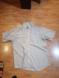 Under Armor Dress Shirt Mint