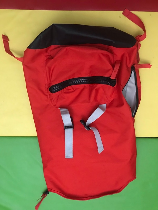Big red back pack e988b03c-5ff9-4ac7-bf3d-924724b9c1f2