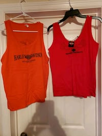 Ladies large new Harley shirts, see description