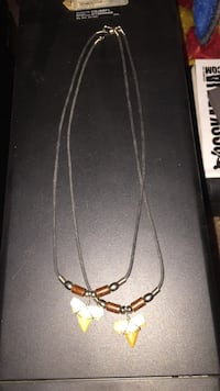 Real sharks teeth necklace 15$ each Massillon, 44646