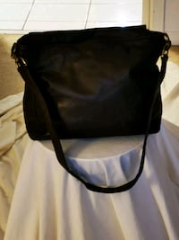 DKNY purse. Authentic. Chocolate brown leather. Vaughan, L4J 6K8