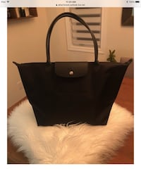 Authentic long champ large tote
