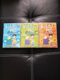 tre casi di giochi per PC Kiddy