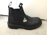 Dolphin Brand, steel toe boots, CSA certified, men's size 8.5/women's 10 Vancouver, V5W 2J4