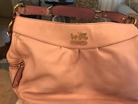 Pink Leather Coach Saint Petersburg, 33710
