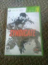 Xbox 360 Syndicate game case Sault Ste. Marie, P6A 1J7