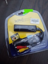 black Easy CAPture high-quality video and audio cable