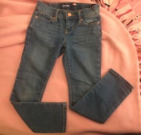 Blue denim straight-cut jeans Fort Myers, 33901