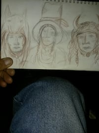 3 chiefs original native sketch Great Falls, 59401