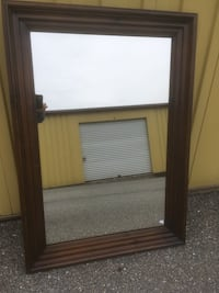 Extra large dark brown mirror Sykesville, 21784