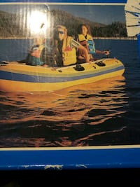 caravelle k85   inflatable 4 person boat Vancouver, V6Z
