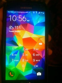 black Samsung Galaxy android smartphone Calgary, T2A