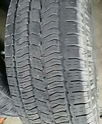 Tires 2 size 245 65 th and I have one for a spare  Bay City, 48708
