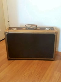 1950s Vintage Suitcase Luggage Italy See info