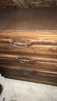 Chest 3 Drawers - real wood